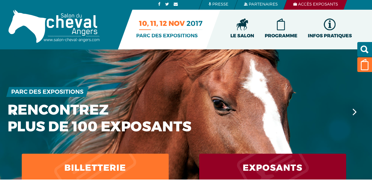 Afpc salons du cheval 2017 lyon et angers association for Salon du cheval lyon 2017